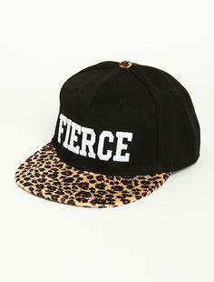 $14 fierce Leopard Snapback Hat | Pretty dope snapback.