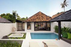 Evason Pool Villa exterior at Evason Hua Hin, Thailand. www.sixsenses.com