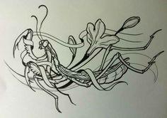 Praying mantis tat