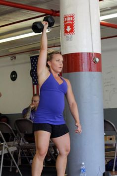 Crossfit while pregnant-- will totally be looking at this down the road with number two!