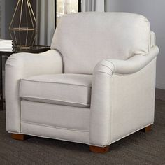 Home Styles Heather Stationary Club Chair with Optional Ottoman - 5205-10