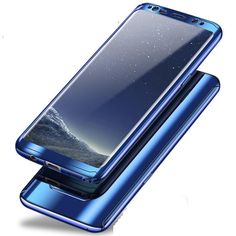 Bakeey Plating 360° Full Body PC Front+Back Cover Case+HD Film For Samsung Galaxy Note 8/S8/S8 Plus/S7 Edge