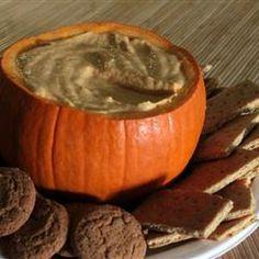 Pumpkin Dip Allrecipes.com