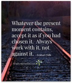 The Present - Eckhart Tolle
