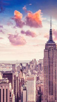 New York iPhone 5 wallpaper: