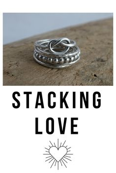 Shop our collection of everyday silver and gold stacking rings. Mix and match our selection of everyday stackable rings to celebrate your own unique style. Personalized Jewelry, Handmade Jewelry, Stackable Rings, Gold Jewelry, Artisan, Silver Rings, Bling, Magazine, Group