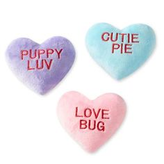 The deluxe pup | cute dog toys | valentines day dog toys Cute Dog Toys, Small Dog Toys, Small Dogs, Cute Dogs, Valentines Day Dog, Converse With Heart, Sweet Messages, Love Bugs, Dog Accessories