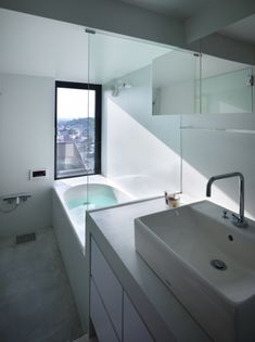 House in Fukuyama by Suppose Design Office - like the view out of the window