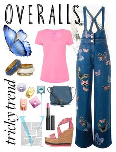 """""""Silly me"""" by pinksquid on Polyvore featuring Victoria Beckham, Valentino, Polo Ralph Lauren, Paloma Barceló, Le Métier de Beauté, Nanette Lepore, TrickyTrend and overalls"""