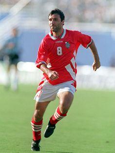 Hristo Stoichkov, Bulgária, 6 gols na Copa do Mundo de 1994.