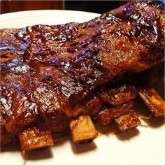 Tender Pork Spare Ribs - combine with other pork rib recipe. Instead of beer use apple cider vinegar