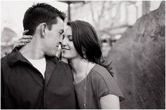 Plum Pretty Photography | Pearl Street Engagement Photos | Boulder Wedding Photographer | Urban Engagement Photos | Colorado Engagement Photos | Black & White