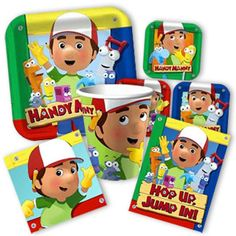Handy Manny Party Supplies - Buy Handy Manny Party Supplies at DiscountPartySupplies.com
