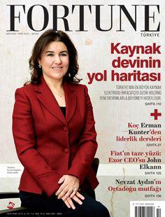 """Dünyanın ünlü iş yayınlarından Fortune Dergisi, Gedik Holding Yönetim Kurulu Başkanı Sn. Hülya Gedik 'i """"Gedik'in Yeni Kaptanı"""" başlıklı haberle kapak sayfasına taşıdı."""