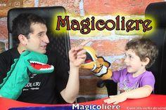 Clown di corsia Gioco con Marionette magicoliere