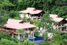 1/14: Mareas Villas; 36 acres surrounded by 400 acres of dedicated rain forest reserve. South Pacific of Costa Rica.