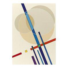 Art by Luigi Veronesi #maybeokayblog #geometric #art #abstract #colors #circles #futuristic #minimal #minimalism
