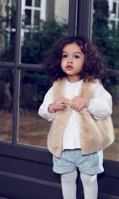 Chloé F/W 14 children's wear
