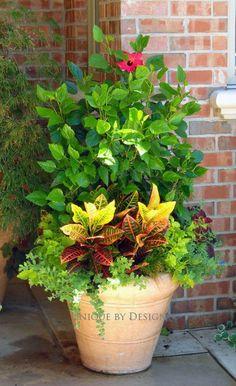 Summer/Fall transition pot l Unique by Design