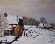 Winter door Riet de Paauw