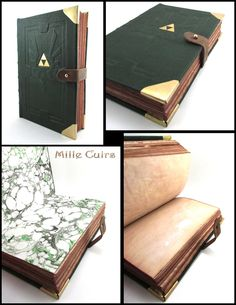 Hyrulean leather book