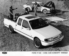 Ford P100 King Cab Concept Vehicle...