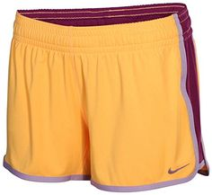 NIKE Nike Womens 3.5 Fly Knit Shorts Orange/Purple. #nike #cloth #