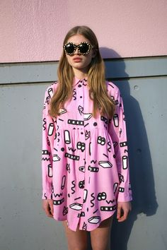 Flip It Shirt Dress  http://www.lazyoaf.com/lazy-oaf-flip-out-shirt-2