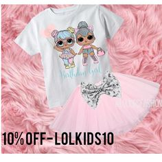 Enjoy 10% OFF ALL ORDER WITH CODE- [LOLKIDS10] at the checkout! LINK IN BIO TO SHOPde agus