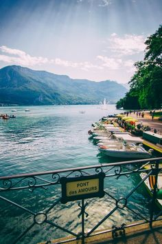 11 Unforgettable Travel Destinations Our Editors Love via @mydomaine: Annecy, France