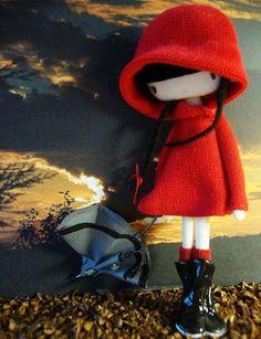Caperucita roja --  Little Red Riding Hood amigurumi