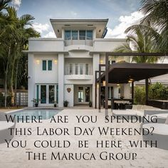 #LaborDay #Weekend is here. Some happy clients are spending an amazing weekend in #MiamiBeach - #TheMarucaGroup To see more pictures of our exclusive portfolio with rate live calendars and location maps visit http://ift.tt/1Dv6CgJ. We have direct and exclusive contracts with the property owners. We are not a 3rd party concierge company! We have exclusive property management contracts of all our portfolio properties.
