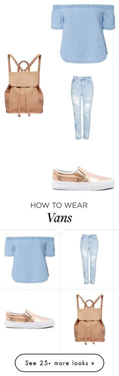 """Untitled #2447"" by angfra on Polyvore featuring Vans, 3x1, Topshop and Urban Originals"
