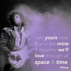 Well, I know I am yours, my love...from the first time I saw you.  And I WILL love you through all space & time. Until the end of forever, my love.  <3