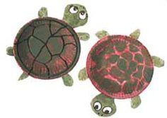 Skapligt Enkelt: Sköldpaddor av papperstallrikar