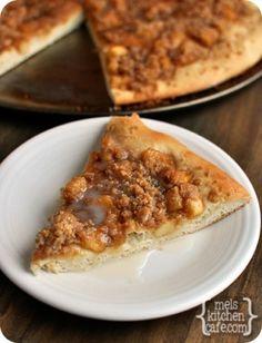 Apple Strudel Dessert Pizza