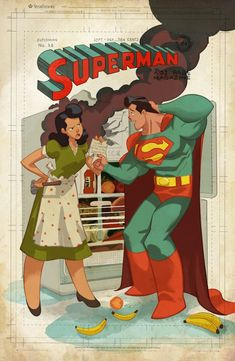 Superman #36 Cover Re-creation Commission by Sean Galloway - W.B.