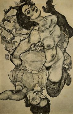 Egon Schiele, unknown 1915 on ArtStack #egon-schiele #art