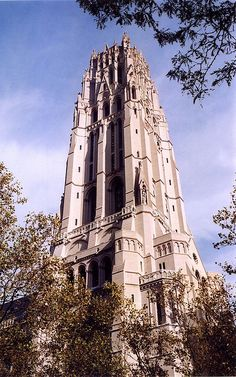 """Riverside Church, Morningside Heights, NYC (sometimes called the """"Rockefeller Church"""" since that family financed most of the building)"""