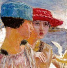 Pierre Bonnard (1867-1947) - Jeunes Filles a la Mouette, 1917