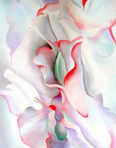 pink sweet peas, 1927 - Georgia O'Keeffe (re-print)