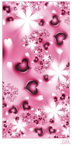 Crush by Gurly on DeviantArt Glitter Wallpaper Iphone, Love Wallpaper Backgrounds, Phone Wallpaper Pink, Butterfly Wallpaper, Heart Wallpaper, Pretty Wallpapers, Colorful Wallpaper, Galaxy Wallpaper, Cellphone Wallpaper