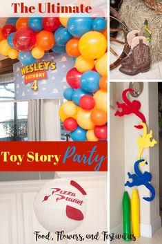 Toys story centerpieces buzz lightyear ideas for 2019 Toy Story Birthday, Toy Story Party, 2nd Birthday, Birthday Parties, Birthday Ideas, Toy Story Food, Toy Story Centerpieces, Create A Cake, Diy Party