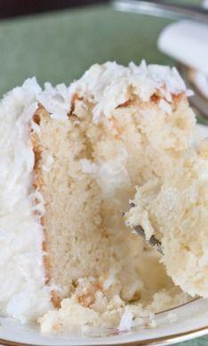 Ina's Classic Coconut Cake - Desserts Coconut Desserts, Coconut Recipes, Just Desserts, Delicious Desserts, Easter Desserts, Coconut Cakes, Coconut Cake Easy, Lemon Cakes, Best Ever Coconut Cake Recipe