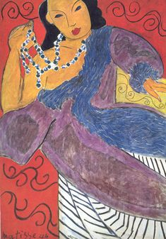 """Matisse, """"Colours and lines are forces, and the secret of creation lies in the play and balance of those forces."""""""