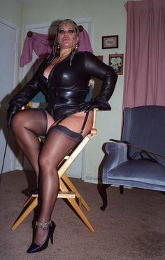 Bbw mistress in lack