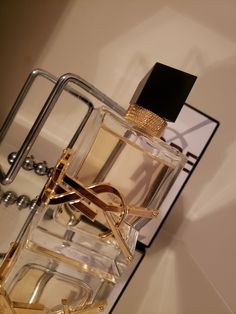 Ysl Yves Saint Laurent Libre perfume on Mercari Perfume Scents, Perfume Bottles, Fragrance, Cream Aesthetic, Gold Aesthetic, Chanel Perfume, Cosmetics & Perfume, Perfume Organization, Mode Poster