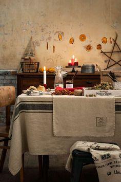 Kuivatut appelsiinisiivut koristavat rustiikkista keittiötä. Joulutunnelma valtaa kodin pikkuhiljaa! #etuovisisustus #etuovisisustus #hm #diy #joulu