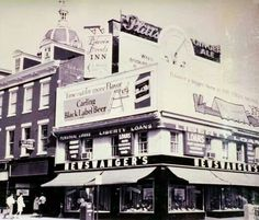 Newswanger's Shoe Store 1955