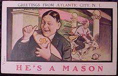 Masonic inside joke